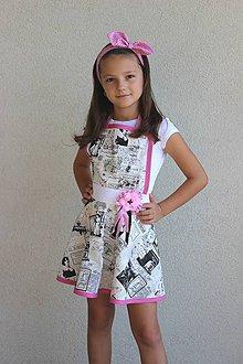 Detské oblečenie - zástera mini Parížanka - 8416974_