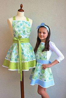 Iné oblečenie - zásterky pre maminu a dcéru