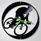 Hodiny - Bicycle / Byicykel - vinyl clocks (vinylové hodiny) - 8419193_