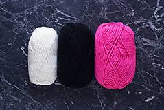 Náušnice - Náušnice s brmbolcami - rôzne farby + strieborná - 8416562_