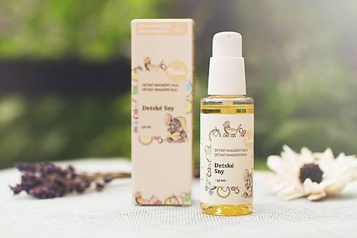 Organický Masážny Olej po Kúpaní - Detské Sny