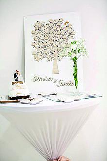 Dekorácie - Svadobný strom 2 - 8416372_