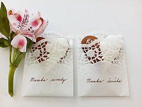 Darčeky pre svadobčanov - Svadobné medovníčky pre R+J - 8418376_