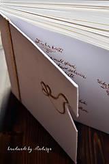 Papiernictvo - Kniha hostí s textom - 8416939_