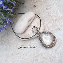 Náhrdelníky - ..ROCHUS . náhrdelník - 8418660_