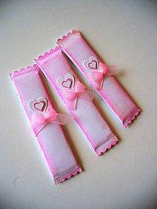 Darčeky pre svadobčanov - s ružovou patinou - 8418100_