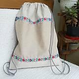 Nákupné tašky - Batoh, taška ľudová - 8416526_