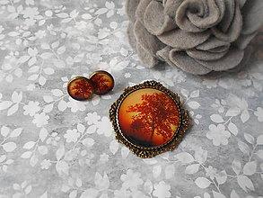 Sady šperkov - Západ slnka - ZĽAVA z 5,20 eur - 8418097_