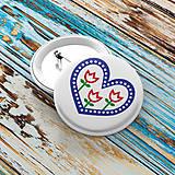 - Odznak s folkovým motívom - 8416135_