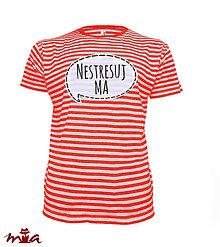 Oblečenie - Nestresuj ma - pánske - 8417173_