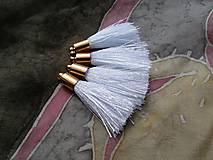 - Strapce hodvábne biele - pár - 8417075_