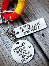 Kľúčenky - RODINA je dar , ktorý trvá večne ... - 8422502_