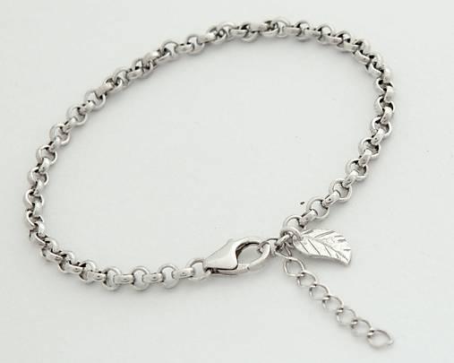 925 Strieborný náramok - predĺženie o 3cm   soamijewelry - SAShE.sk ... 7d196a589a5