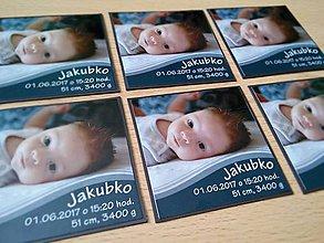 Magnetky - magnetka s fotkou dieťaťa - 8421059_