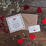 Papiernictvo - Svadobné oznámenie 6 - 8419284_