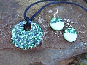Sady šperkov - Set Bella verde - 8420960_