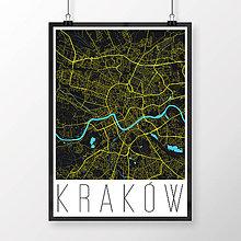 Obrazy - KRAKOV, moderný, čierny - 8419682_
