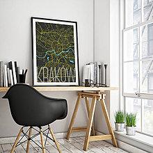 Obrazy - KRAKOV, elegantný, čierny - 8419690_
