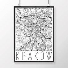 Obrazy - KRAKOV, moderný, biely - 8422088_