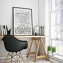Obrazy - KRAKOV, elegantný, biely - 8422096_
