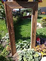 Zrkadlo so starého dreva