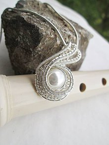 Náhrdelníky - jemná perla - 8421083_