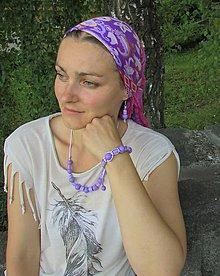 Sady šperkov - Jemný odtieň fialovej - 8421349_
