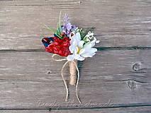 Pierka - Svadobné pierko Letná lúka II. - 8425602_
