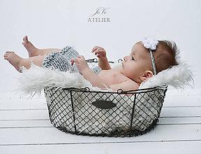 Detské oblečenie - Setík na profi fotenie SIVKO - 8422612_