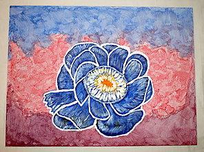 Obrazy - Modrá ruža - 8425719_