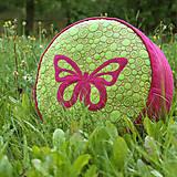 Úžitkový textil - Sedák s motýlem - 8423500_