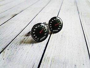 Šperky - Manžetové gombíky tachometer :) - 8425729_