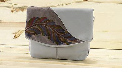 Kabelky - Kožená kabelka - Jemen Draw - 8424771_