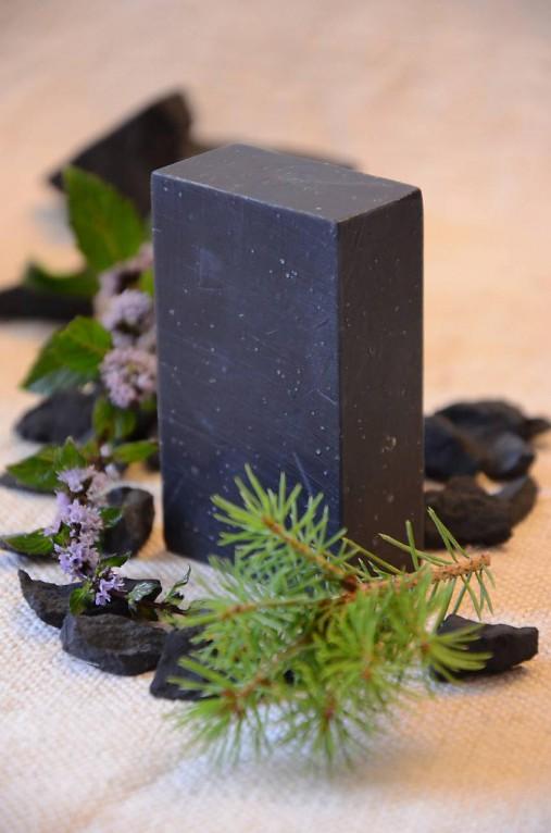 Hviezdna brána, PríRODné šungitové mydlo detoxikačné, na harmonizáciu problematickej/unavenej pleti