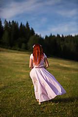 Šaty - Elegantné dlhé šaty - 8422807_