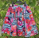 Sukne - sukňa Vlčie maky - 8424212_