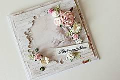 Papiernictvo - Svadobná pohľadnica - 8425825_