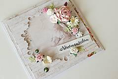 Papiernictvo - Svadobná pohľadnica - 8425827_