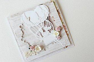 Papiernictvo - Svadobná pohľadnica - 8425831_