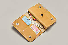 Peňaženky - Peňaženka Perry - cedr - 8423263_