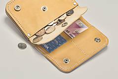Peňaženky - Peňaženka Perry - cedr - 8423264_
