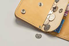 Peňaženky - Peňaženka Perry - cedr - 8423265_