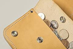 Peňaženky - Peňaženka Perry - cedr - 8423266_