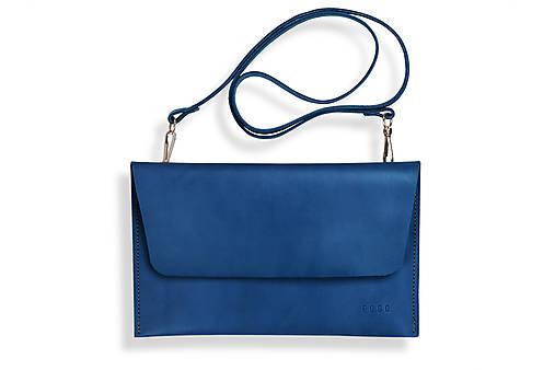 Kabelky - Listová kabelka Lowie - modrá - 8422870_