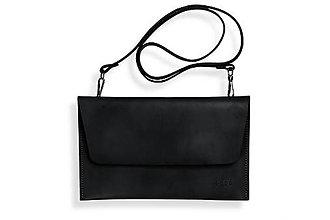 Kabelky - listová kabelka Lowie - čierná - 8422837_