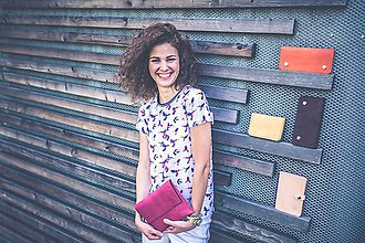 Kabelky - Listová kabelka Lowie - ružová - 8422904_