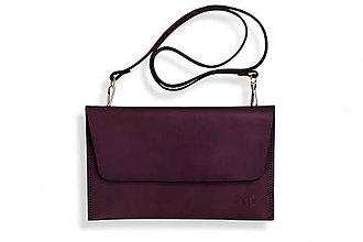 Kabelky - Listová kabelka Lowie - tmavo fialová - 8422915_