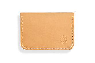 Peňaženky - Peňaženka Perry - béžová - 8423182_