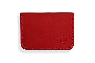 Peňaženky - Peňaženka Perry - červená - 8423200_