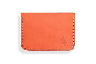 Peňaženky - Peňaženka Perry - oranžová - 8423213_
